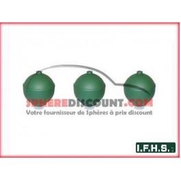 3 Sphères neuves pour Citroen DS IFHS