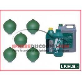 5 Sphères neuves pour Citroen DS IFHS + 5L LHM
