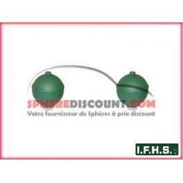 2 Spheres Neuves Pour Citroen Xantia non hydractive IFHS