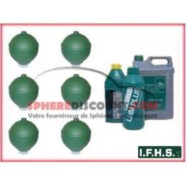 6 Spheres Neuves Pour Citroen Xantia non hydractive IFHS + 5L LHM