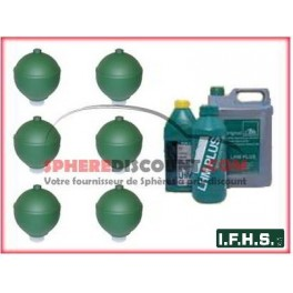 6 Spheres Neuves Pour Citroen Xantia Hydractive IFHS + 5L LHM