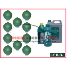 10 Spheres Neuves Pour Citroen Xantia Activa IFHS + 5L LHM