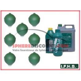 7 Spheres Neuves Pour Citroen XM Hydractive IFHS + 5L LHM