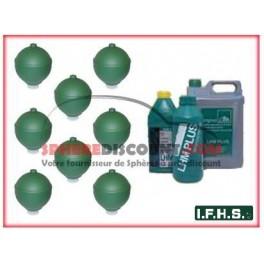 8 Spheres Neuves Pour Citroen XM Hydractive IFHS + 5L LHM