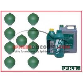9 Spheres Neuves Pour Citroen XM Hydractive IFHS + 5L LHM