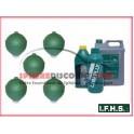 5 Sphères neuves pour Citroen GS IFHS + 5L LHM