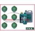 6 Spheres neuves Pour Citroen SM IFHS + 5L LHM
